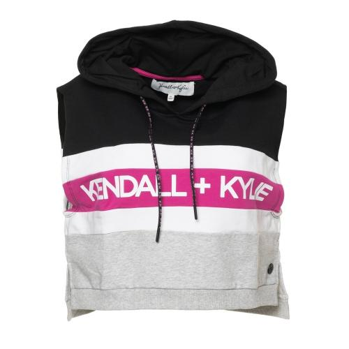 KENDALL+KYLIE Γυναικείο αμάνικο φούτερ