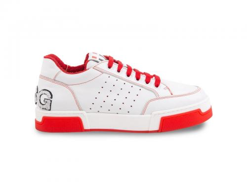 DSG SHOES CINDY WHITE/RED